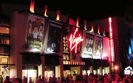 Virgin Megastore Downtown Disney